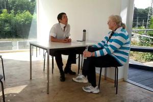 Client meeting Documenta 13, Kassel Germany