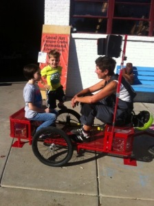 Rest Stop Bike Repair Shop – Laura Curry